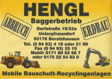 Hengl Baggerbetrieb