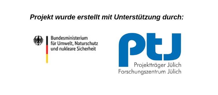 Logo Jülich und BM